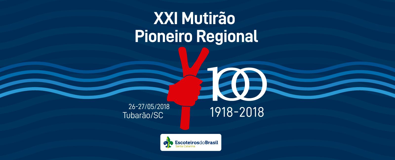 XXI Mutirão Regional Pioneiro