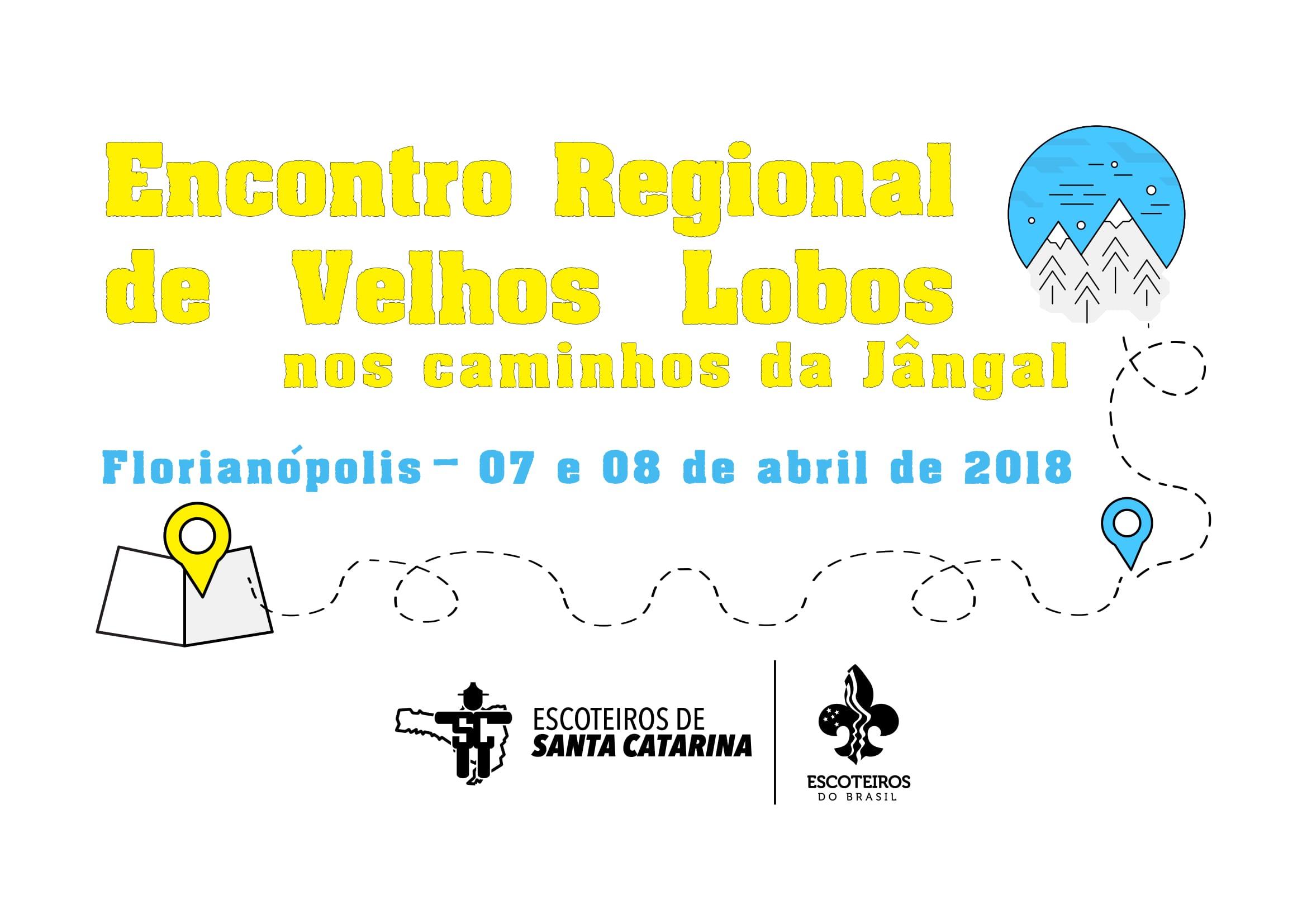 Encontro Regional de Velhos Lobos - 6 e 7 de abril